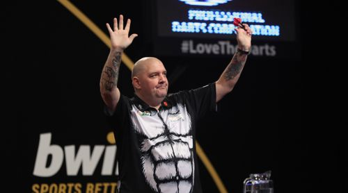 Robbie Green beim Grand Slam of Darts
