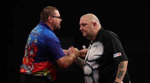 Robbie Green und Peter Machin