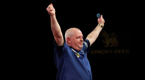 Robert Thornton zieht in das Viertelfinale des Grand Slam of Darts 2015 ein