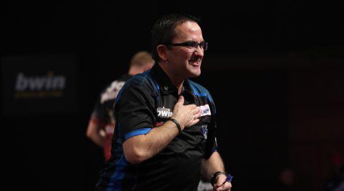 Ross Montgomery ist Kapitän der schottischen Darts Nationalmannschaft