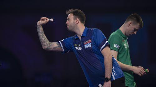 Ross Smith bei der Darts-Weltmeisterschaft