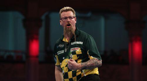 Simon Whitlock ist auch 2017 der beste australische Dartspieler