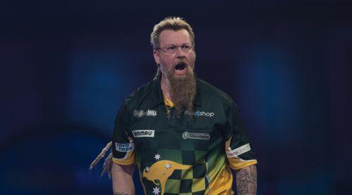 Simon Whitlock zieht in das Achtelfinale der WM 2020 ein