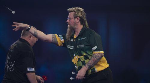 Simon Whitlock gegen Mervyn King Darts-WM 2020