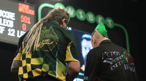 Simon Whitlock und Peter Wright Dartshirts