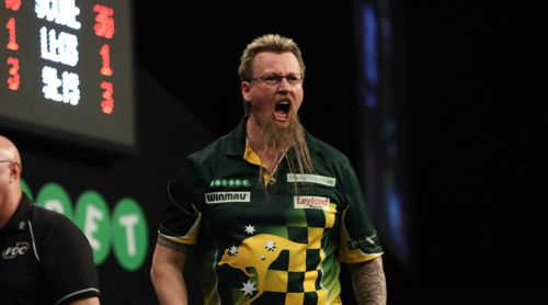 Simon Whitlock zeigt Emotionen