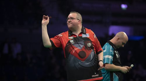 Stephen Bunting und Rob Cross Premier League