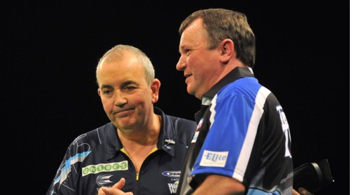 Terry Jenkins und Phil Taylor