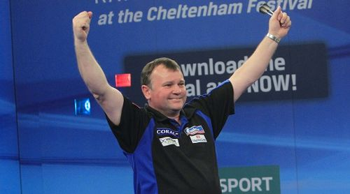 Terry Jenkins UK Open Finalist 2014