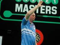 Vincent van der Voort zeigte gegen den amtierenden Weltmeister eine konstante Leistung und zieht verdient in das Viertelfinale der Masters ein