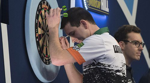 William O'Connor steht in Runde 3 der Darts WM 2019