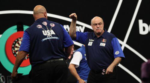 Darin Young und Larry Butler bringen enorm viel Erfahrung mit zum PDC World Cup of Darts