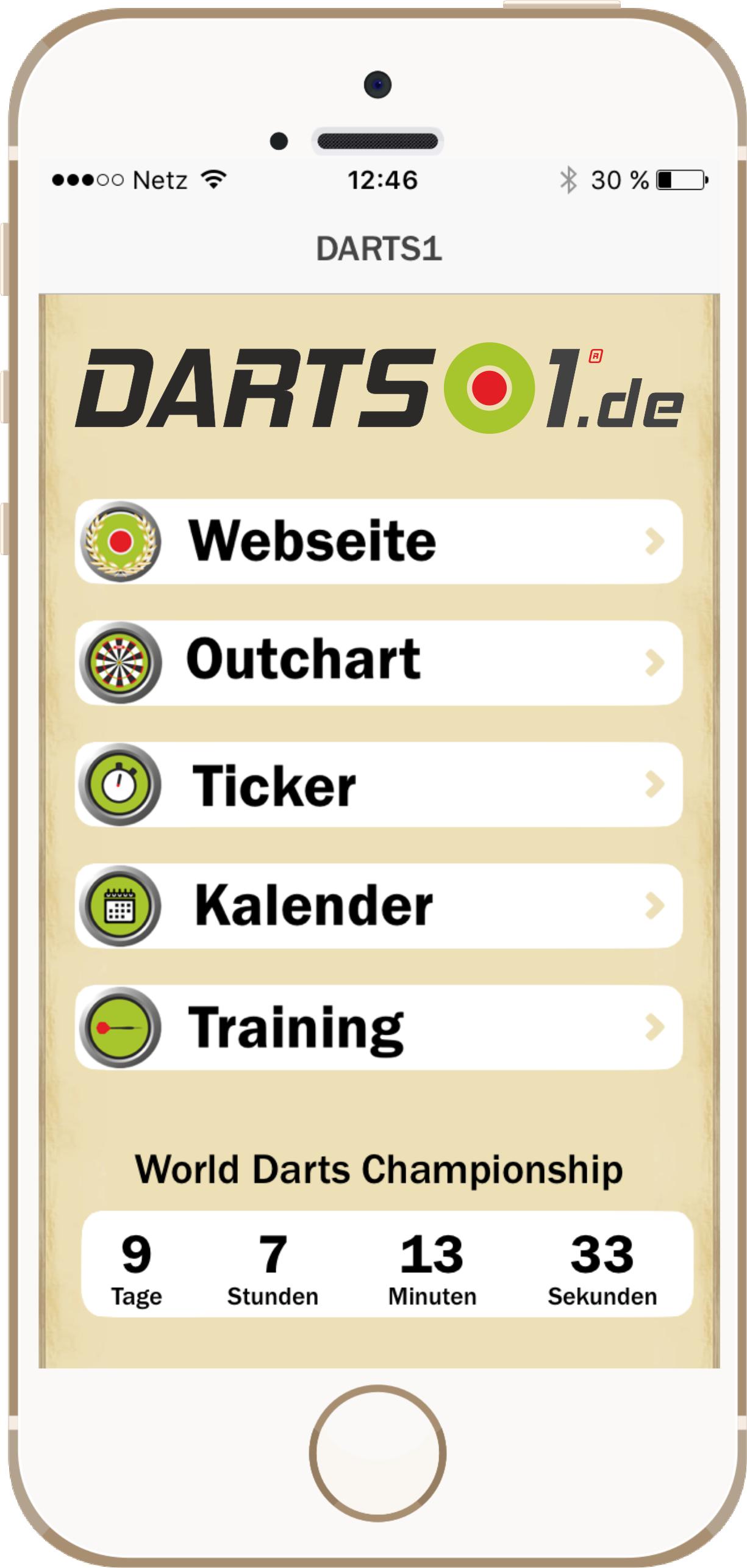Darts1.de App