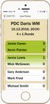 Darts 1 App - Ticker