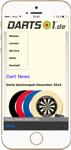 Darts 1 App - Webseite
