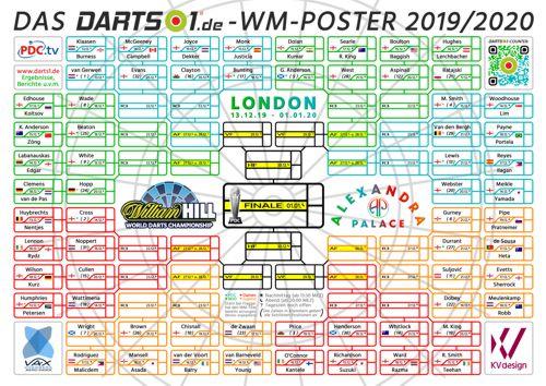 Poster Darts WM