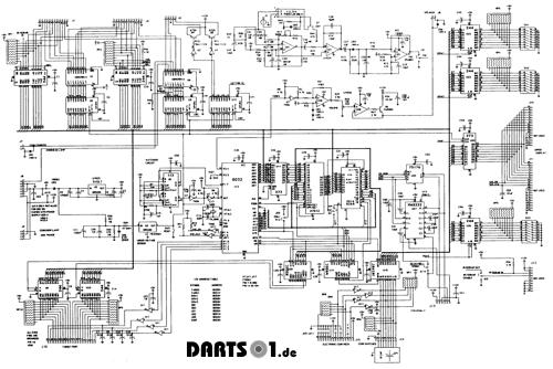 Controller Board Dartautomat SM