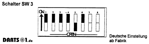 Piezo Sensor Erkennung Dartautomat
