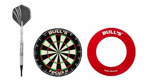 Darts, Dartboard und Surround