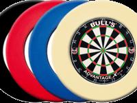 BULL'S Advantage Xtra Bristle Dart Board