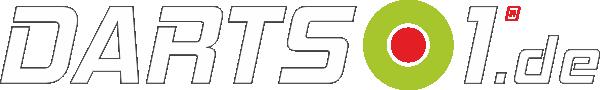 Darts1-Logo weiß