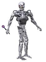 Roboter spielt Darts