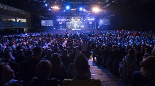 Die ArenaMK in Milton Keynes ist Austragungsort des Masters
