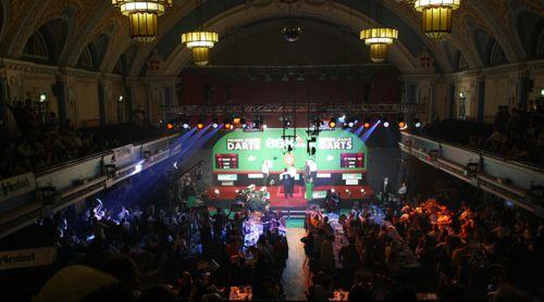 Die King's Hall in Stoke-on-Trent war der allererste Austragungsort der Premier League