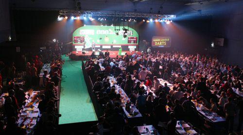 Im Wellsprings Centre, Taunton, fand 2005 unter anderem die Premier League Darts statt