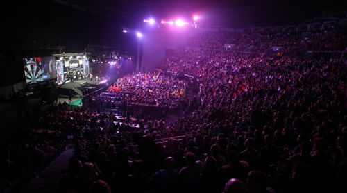 11.000 Dartfans in Leeds