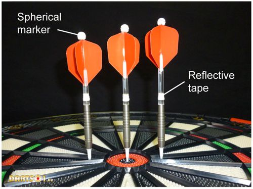 Darts electronic dartboard