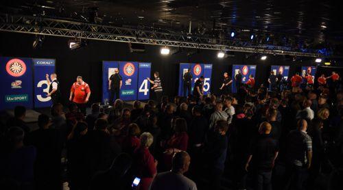 Die UK Open werden an acht Boards gespielt