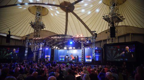 Die UK Open finden traditionell im Butlins Minehead Resort statt
