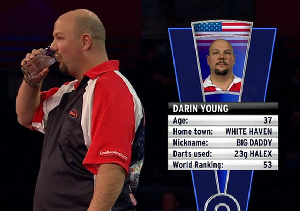 darin young how tall
