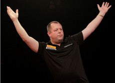 Mervyn King beim Players Championship 2011