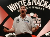 James Wade bei der Premier League 2009