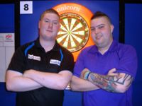 Ricky Evans und Michael Smith bestritten 2013 das Junioren WM-Finale