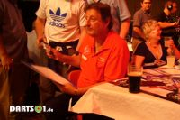 Eric Bristow bei der League of Legends in Reading