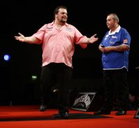 Peter Manley und Phil Taylor