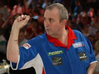 Phil Taylor beim zweitwichtigsten Turnier der Professional Darts Corporation, dem World Matchplay