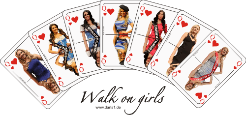 Walk on girls