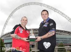 Phil Taylor und Adrian Lewis