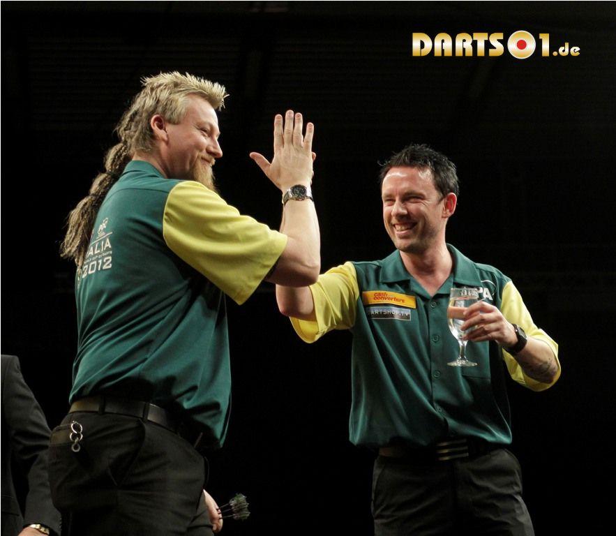 Australischer Dartspieler